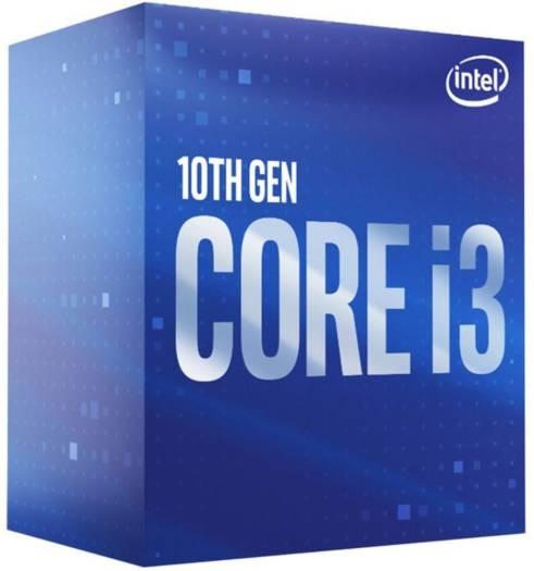 Intel Core i3-10100F 3.6GHz, Quadcore, 6MB, LGA1200, No Graphics CPU Box Processor - Comet Lake | BX8070110100F