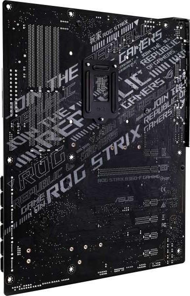 ASUS ROG Strix B360-F Gaming LGA 1151 With Aura Sync RGB LED Lighting,  Pre-mounted I/O Shield, Dual M 2, Onboard M 2 Heatsink, SATA 6Gbps And USB  3 1
