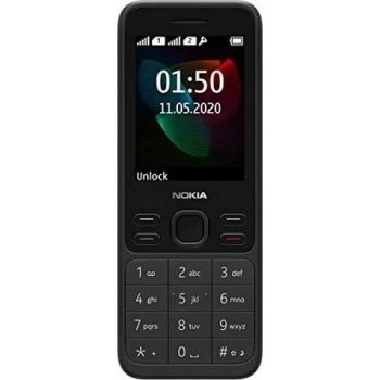 "Nokia 150 (2020) Dual SIM Feature Mobile Phone, 2.4"" Display, Camera, FM Radio, MP3 Player, Expandable MicroSD up to 32GB - Black   6438409047076"
