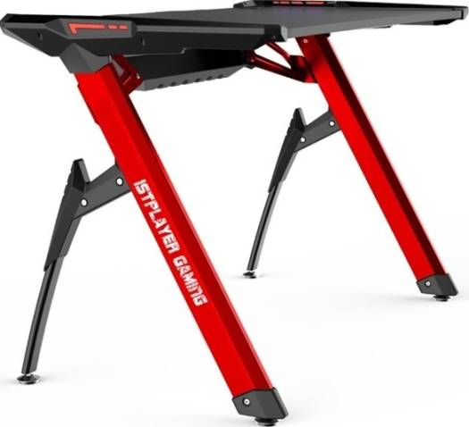 1st Player Gaming Desk, RGB, Red | 1st Player GT2