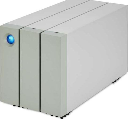 Lacie 12TB 2big Thunderbolt 2 and USB 3 0 2 Bay RAID Hard Drive STEY12000400