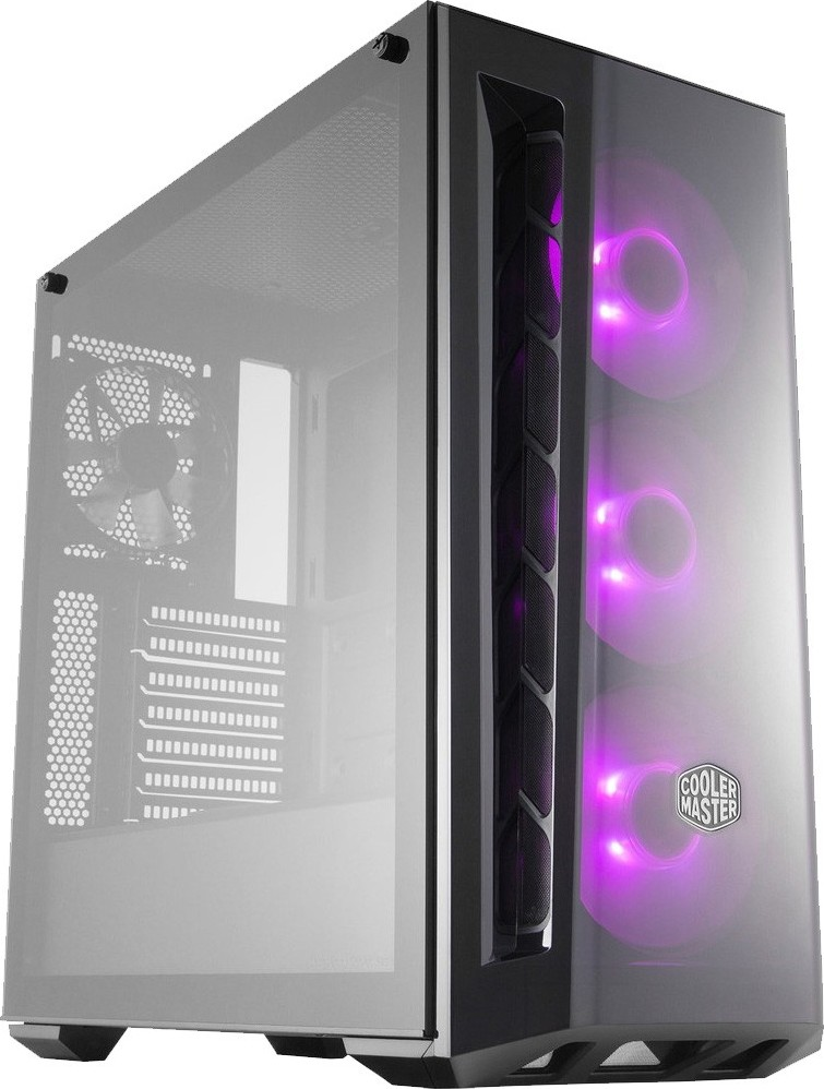 Cooler Master MasterBox MB520 RGB LED Fans and Lighting Control, DarkM