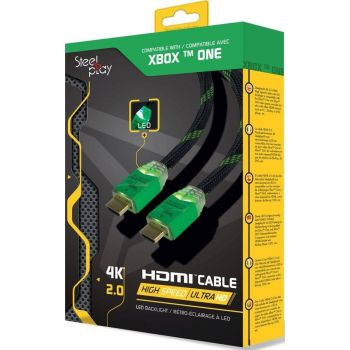 Steelplay 4K 2.0 HDMI High Speed Ultra HD LED Cable for XBOX ONE (JVAXONE0038)   JVAXONE0038