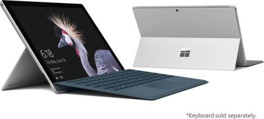 "Microsoft Surface Pro 5 LTE  Intel 7th Generation i5 7300U ,4GB Ram , 128GB SSD, LTE ( 4G Plus) ,12.3"" PixelSense™ Display, Intel® HD Graphics 620, Windows 10 Pro, Silver 