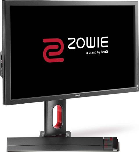 BenQ ZOWIE XL2720 27 Inch 144 Hz e-Sports Gaming Monitor with 1 ms, Height Adjustable Stand, S Switch, Black eQualizer, Dark Grey