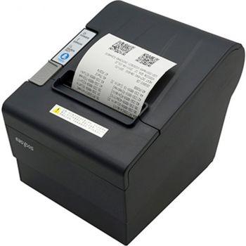 Easypos Receipt Printer EPR303 - USB + LAN Printing speed: 250mm/sec, 80mm Paper Width with Auto Cutter - Black   EPR303UE