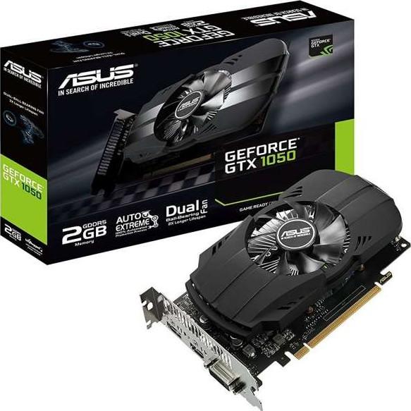 ASUS Phoenix GeForce GTX 1050 2GB GDDR5, PCI Express 3.0, 128-bit, Mem