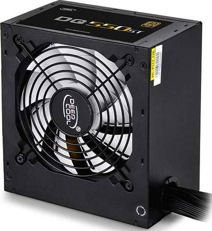 DEEPCOOL DQ550ST 550W 80 Plus Gold PSU with 120mm PWM Fan Power Supply Unit | DP-GD-DQ550ST