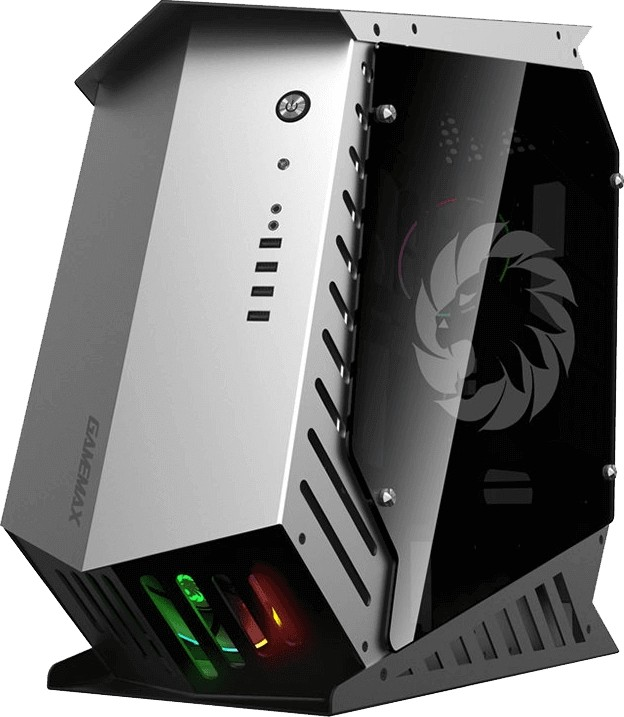 GAMEMAX AUTOBOT ATX case , x3 USB2 0 Port s x2 USB3 0 Port s , x2 HD Audio  Support, x1 Remote IR