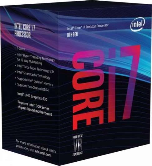 Intel Core i7 8700K Coffee Lake 8th Gen 6 Core 3 7 GHz LGA1151 Intel UHD  Graphics 630 Desktop Proces
