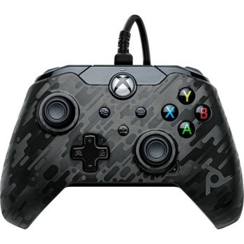 PDP Gaming Wired Controller For Xbox Series X|S, Xbox One (049-012-EU-CMBK) – Camo Black | 049-012-EU-CMBK