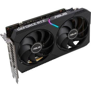 Asus Dual GeForce RTX 3060 OC - Nvidia GeForce RTX 3060, 12GB GDDR6, 1875MHz, 15Gbps, 192bit, PCIe 4.0 x16, 1x HDMI 2.1, 3x DisplayPort 1.4a, Gaming Graphics Card | 90YV0GB2-M0NA10