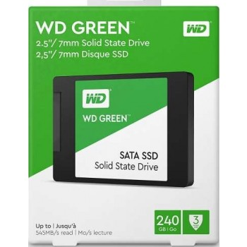 Western Digital 240GB Green SATA III 2.5 Inch Internal SSD Drive | WDS240G2G0A