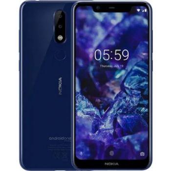 Nokia 5.1 Plus Dual SIM 3GB RAM 32GB 4G LTE - Blue | N19086053A