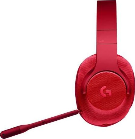 Logitech G433 7 1 Wired Surround Gaming Headset Fire Red 981