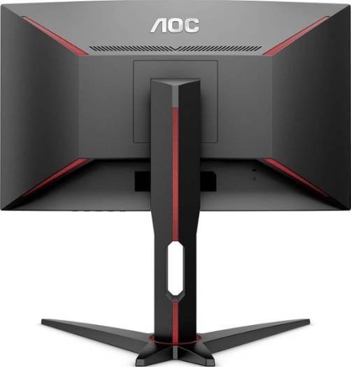 "AOC 27"" CQ27G1 Curved Frameless Gaming Monitor QHD/2K, 1ms, 144Hz, FreeSync, DisplayPort/HDMI/VGA, Height Adjustable, 3-Year Zero-Bright Dot | CQ27G1"
