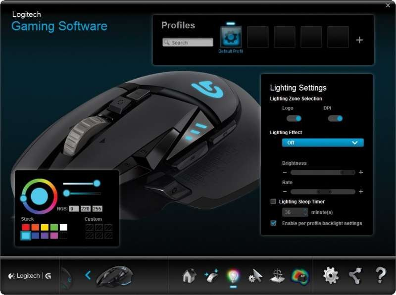 8b3968b31fd Logitech G502 Proteus Spectrum RGB Tunable Gaming Mouse, FPS Mouse |  910-004618 /