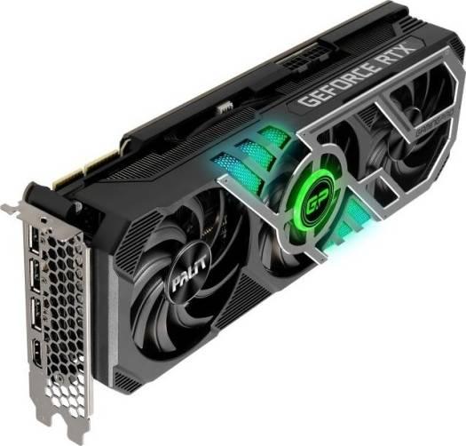 Palit GeForce RTX 3090 GamingPro, 24GB GDDR6X, 384 bit, PCI Express 4.0 x16, HDMI, 3x DP | NED3090019SB-132BA