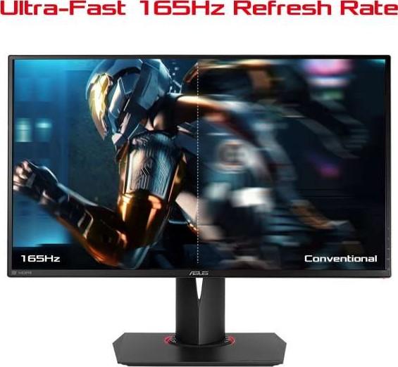 ASUS ROG SWIFT PG278QR 27 INCH WQHD 2560 x 1440 Gaming monitor, 1ms, up to  165Hz, DP, HDMI, USB3 0