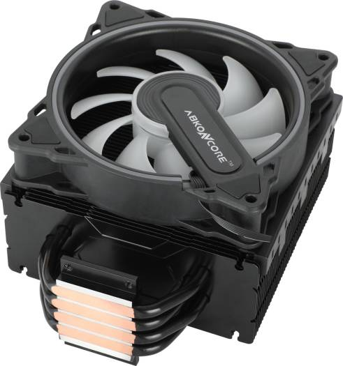 Abkon Core CPU Cooler CoolStorm T403B Hurricane SYNC, ARGB, HR120 Fan with High Airflow   T403B