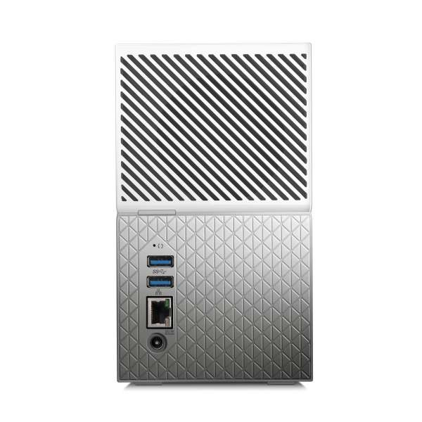 WD 8TB My Cloud Home Duo Dual Drive USB 3 0 Personal Cloud NAS Storage  WDBMUT0080JWT EESN