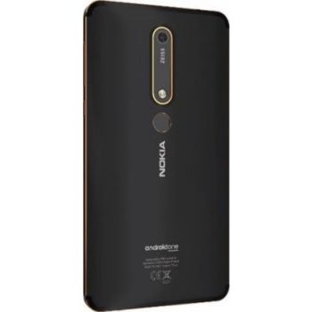 Nokia 6.1 Dual Sim Mobile Phone, 3GB RAM, 32GB 4G LTE - Black Copper | N15170324A