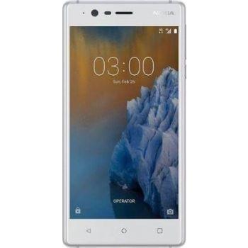 Nokia 3 Mobile Phone, 2GB RAM, 16GB, 4G LTE - Silver White | N22241843A