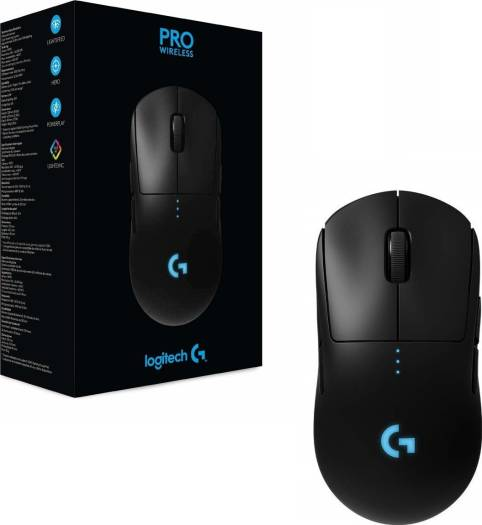 48e41cd20a5 Logitech G Pro Wireless Gaming Mouse with Esports Grade Performance (16,000  DPI) – Black