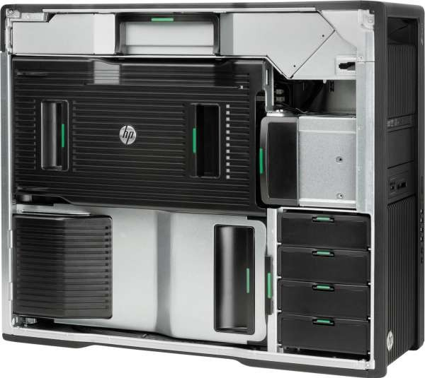 HP Z840 Workstation Dual Intel Xeon Processor E5 2650 v4, 64GB DDR4, 2x 2TB  SATA HD 9HP Z Turbo Dr