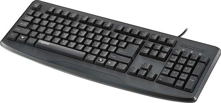 rapoo nk2500 keyboard wired usb black 17592 buy best price in uae dubai abu dhabi sharjah. Black Bedroom Furniture Sets. Home Design Ideas