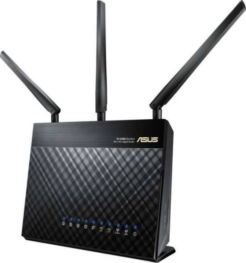 ASUS RT-AC68U Wireless-AC1900 Dual Band Gigabit Router | 90IG00C0-BU2000