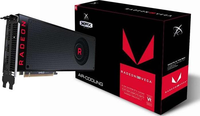 XFX AMD Radeon RX Vega 56-8GB HBM2 PCI Express x16 Video Card