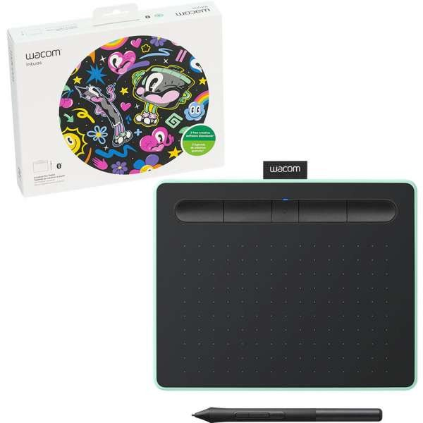 Cheap Sale Wacom Intuos Ctl-4100wle-n Small Graphics Tablet Keyboards, Mice & Pointers