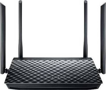 ASUS RT-AC1200G+ Dual-band Wireless AC1200 Router | 90IG0241-BFA000