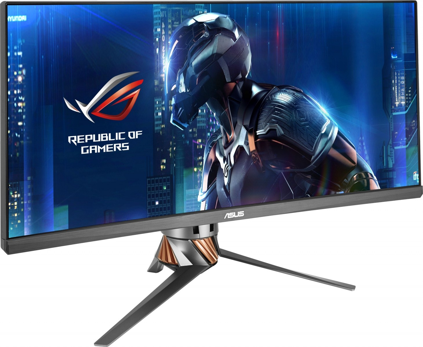 "Asus ROG Swift PG27UQ Gaming Monitor (27"" 4K UHD (3840 x 2160) Overclockable 144Hz G-SYNC HDR ..."