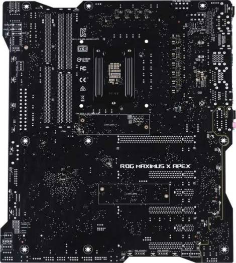Asus Maximus X Apex Extended Atx Motherboard Lga 1151