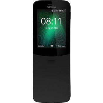 Nokia 8110 Dual SIM Mobile Phone, 512MB RAM 4GB 4G LTE - Black   N15962390A