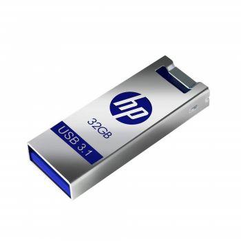 HP X795w, USB 3.1, 32GB, Flash Drive - Silver   HPFD795W-32