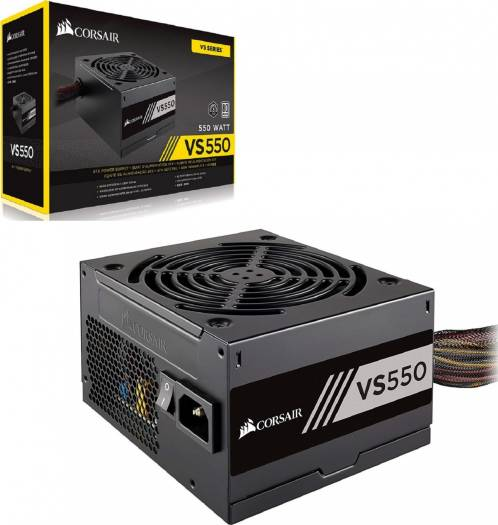 Corsair VS550 550 Watts ATX 12V v2.31 Power Supply | CP-9020097-UK / CP-9020171-UK