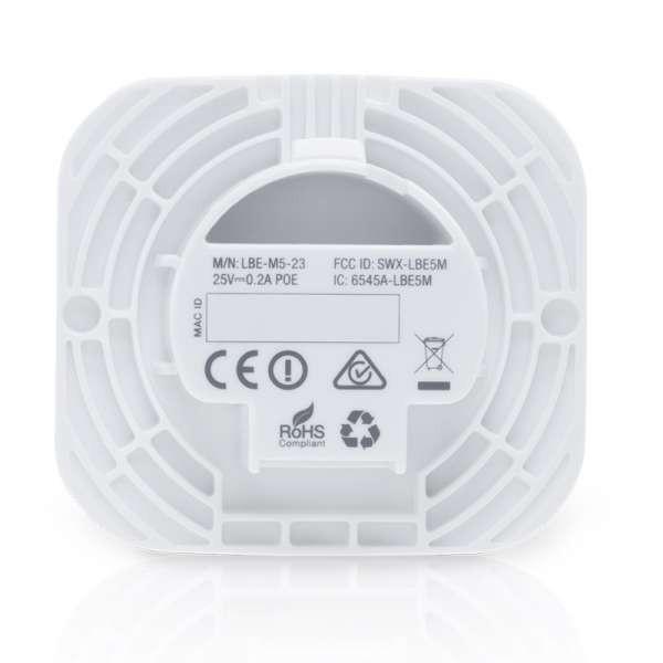 Ubiquiti Networks LiteBeam M5 LBE M5 23 100+Mbps, 23dBi Long Range,  Lightweight airMAX CPE LBE M5