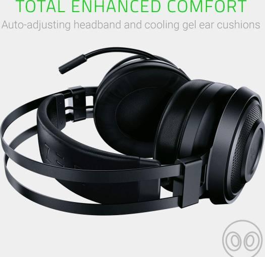 Razer Nari Essential: THX Spatial Audio - 2.4GHz Wireless Audio – Auto-Adjusting Headband – Gaming Headset Works with PC, PS4, Xbox One, Switch, Mobile Devices |  RZ04-02690100-R3M1