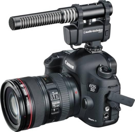 Audio-Technica Stereo/Mono Camera-Mount Microphone | AT8024