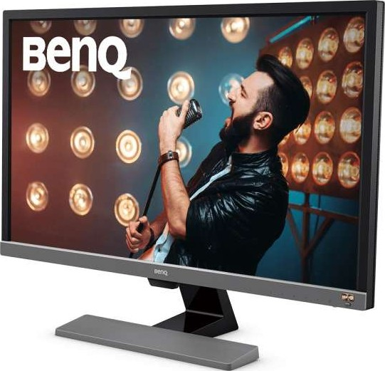 BenQ EL2870U 28 inch 4K HDR 3840x2160 UHD Monitor x2 HDMI, x1 DP, x2  Speakers 2W, FreeSync, 1ms R