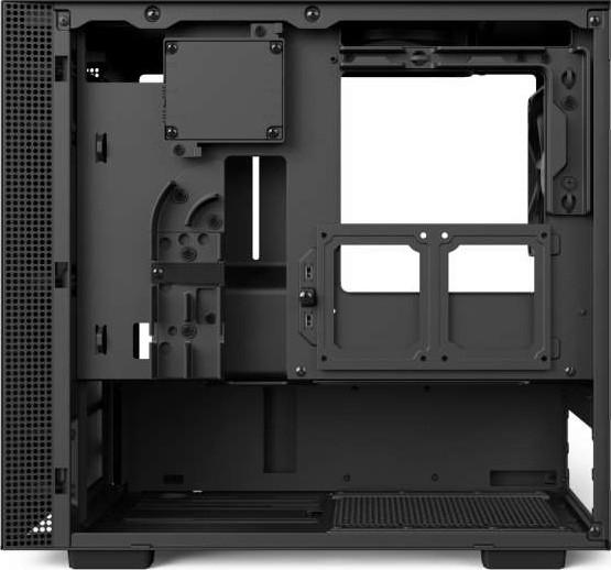 NZXT H200i Mini ITX Computer Case SECC Steel and Tempered Glass Matte Black  CA H200W BB