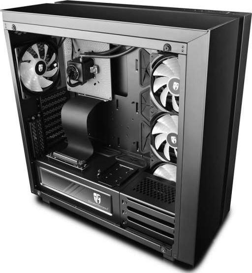 Deepcool New Ark 90 Atx Pc Gaming Case With Rgb Liquid