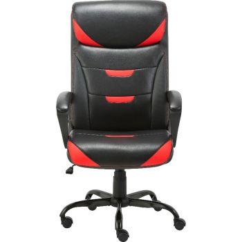 Blitzed Executive Highback Office Chair OC-2191ES - Black-Red | OC-2191ES