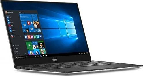 "Dell XPS 13-1192 (i7-8550U - 1.8 Ghz, 16GB RAM, 512GB SSD,13.3"" Touch - Ultra HD, Intel HD Graphics, Bluetooth, Camera, Windows 10 Professional) - Silver 
