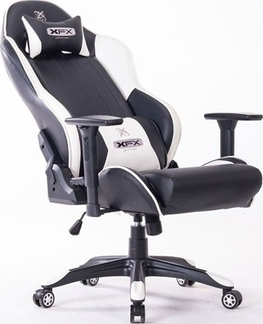 Xfx Enthusiast Gtr400 Faux Leather Gaming Chair Black