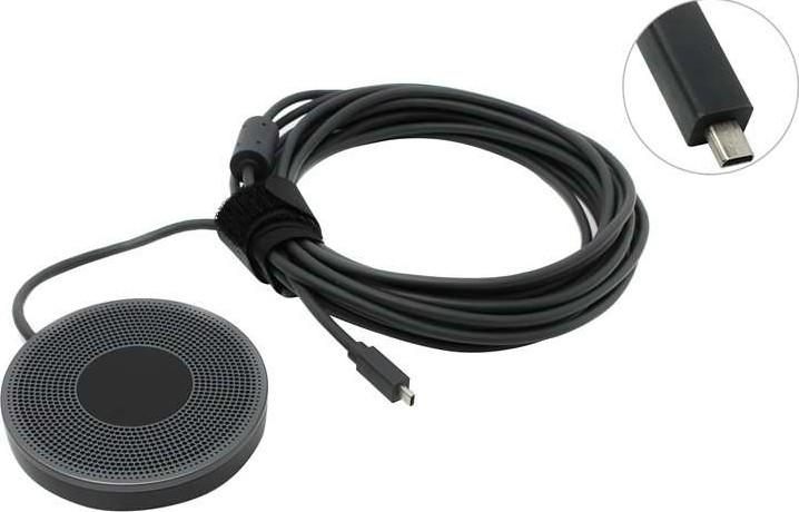 af84843eaab Logitech Expansion Microphone for MeetUp Conference Cam | 989-000405 ...