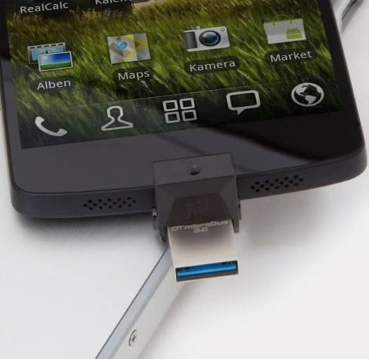 Kingston Digital Data Traveler Micro Duo USB 3.0 Micro USB OTG (DTDUO3 / 64GB) | DTDU03/64GB